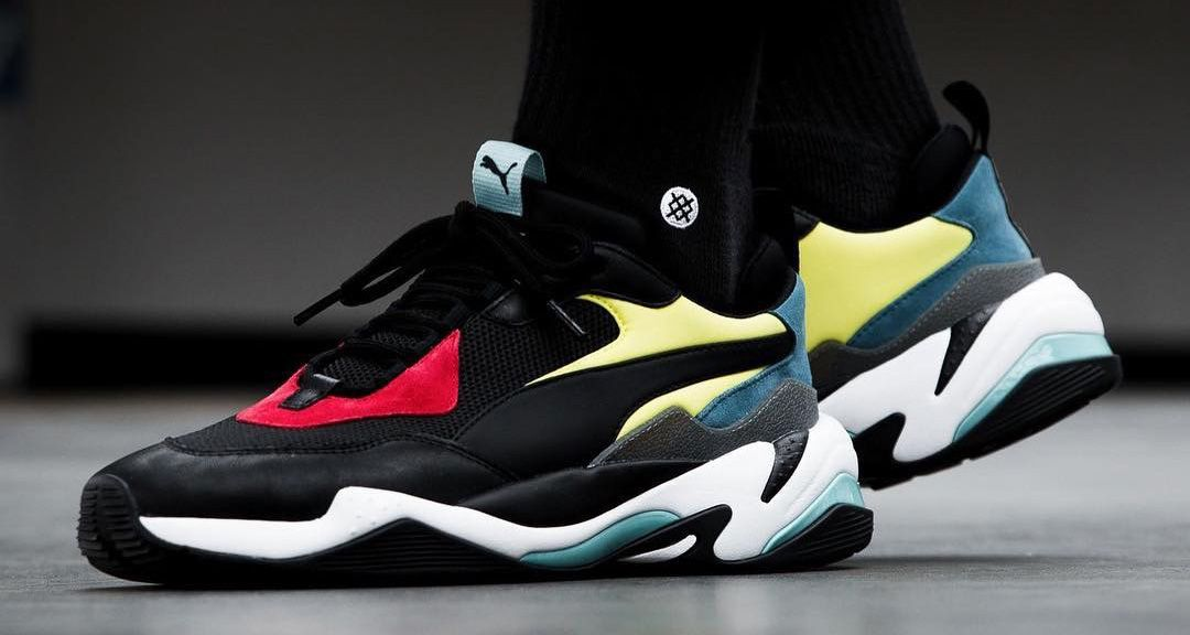 The PUMA Thunder Spectra merges dad