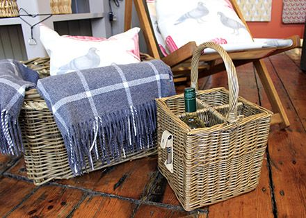 Treat yourselves to a Picnic in the sun with our wicker picnic bottle carrier!  http://www.waringstore.co.uk/home-accessories/picnic-bottle-basket.html