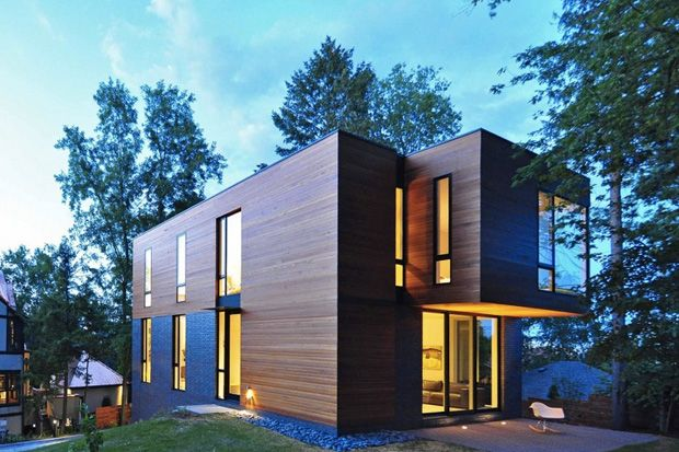 Nexus House by Johnsen Schmaling Architects.
