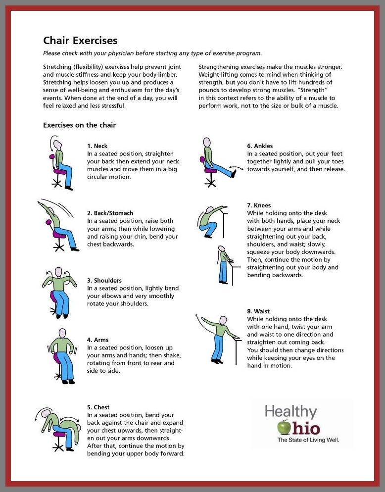 90 Reference Of Chair Exercises Easy Chair Exercises Senior Fitness Exercise