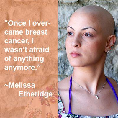 cancer breast Melissa ethridge