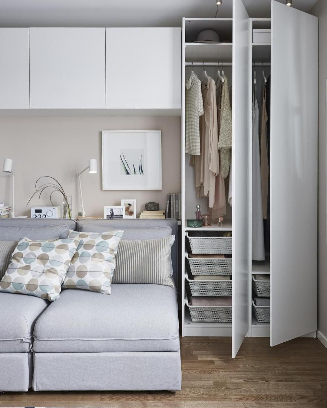 platsa wardrobe whitefonnes sannidal ikea v roku 2019 alex. Black Bedroom Furniture Sets. Home Design Ideas