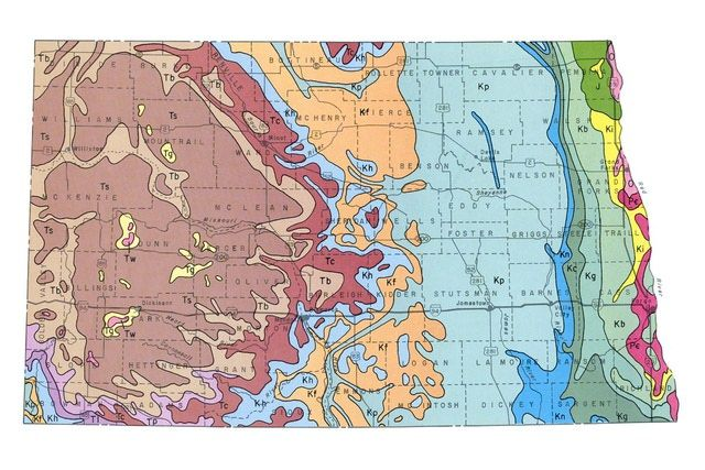 Geologic Maps Of The United States United States And Geology - Map of the 50 united states