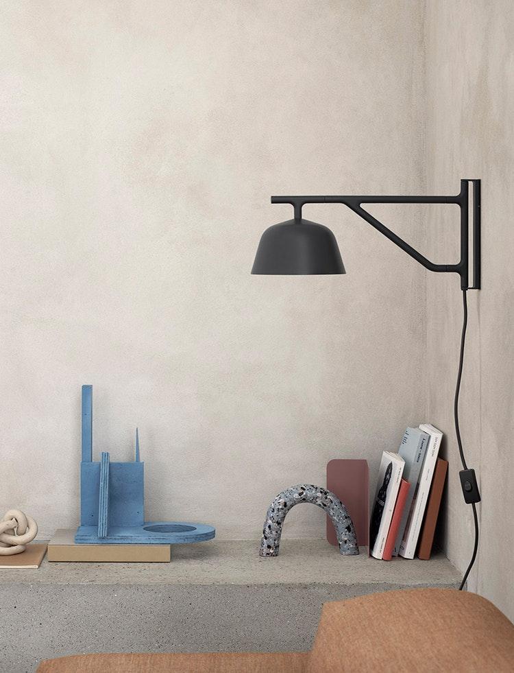 Modern Scandinavian Design Muuto Wall Lamp Wall Lamps Bedroom Black Wall Lamps