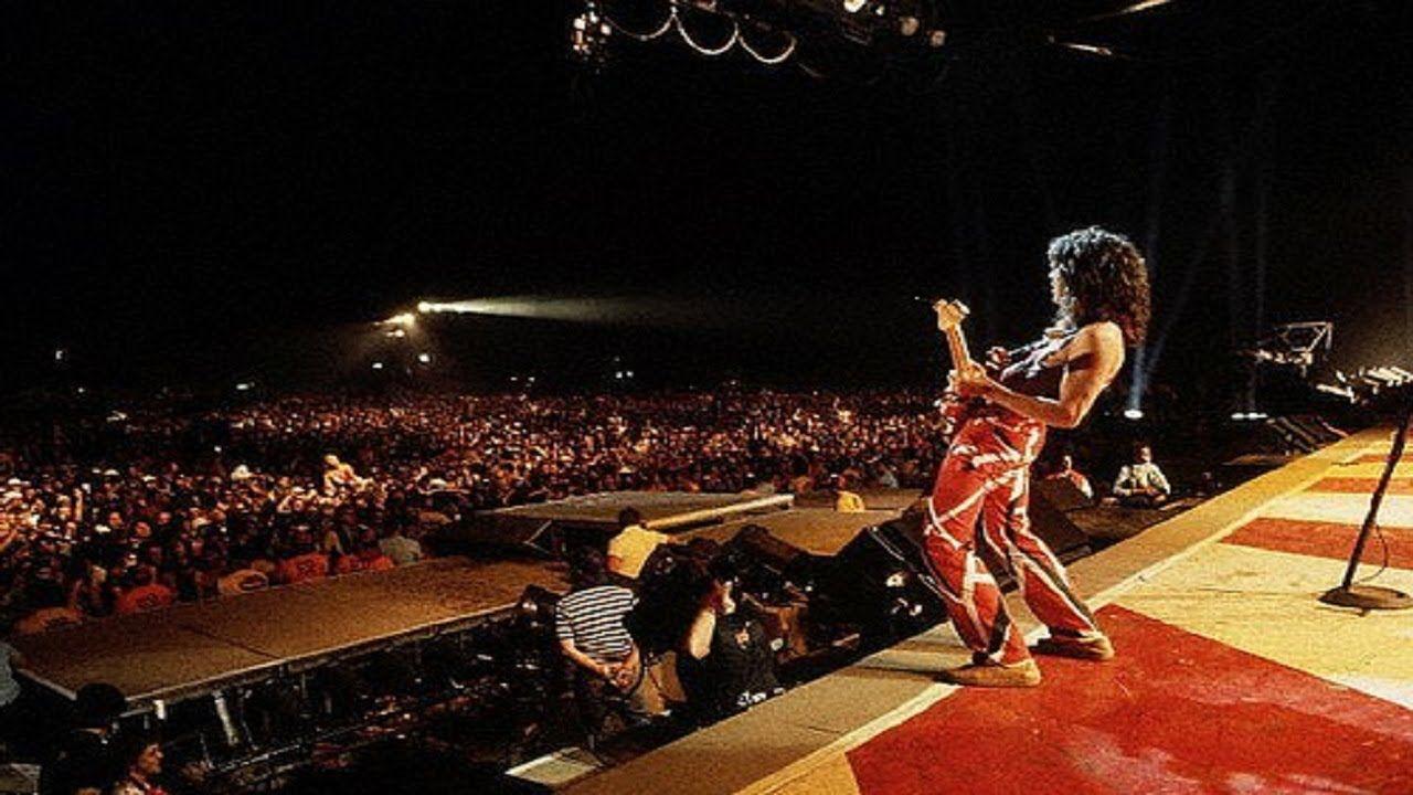 Van Halen Us Festival 1983 Full Concert Widescreen Van Halen Eddie Van Halen Rock Music History