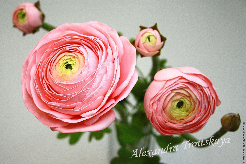 Цветы из фоамирана, мастер классы. Зиля Радуга.