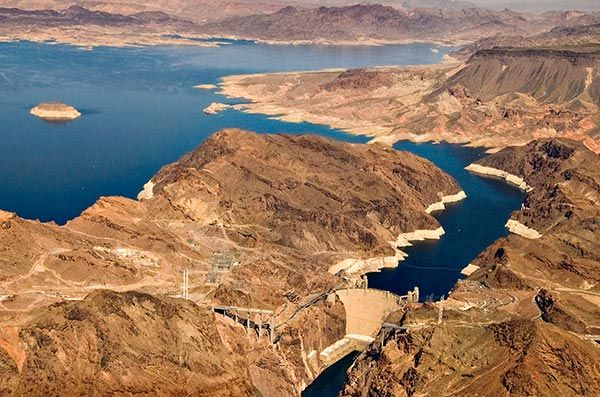 Hoover Dam, Lake Mead National Recreation Area, NV