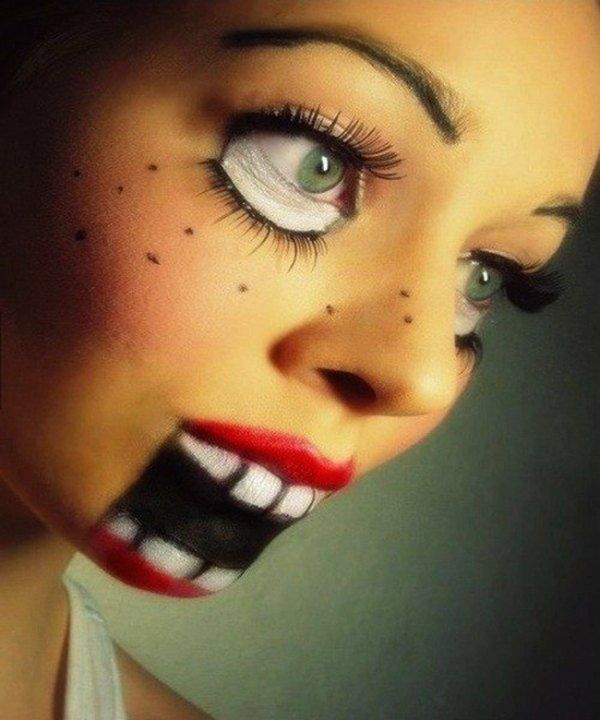 Beautiful Halloween Make Up Designs Photos - harrop.us - harrop.us