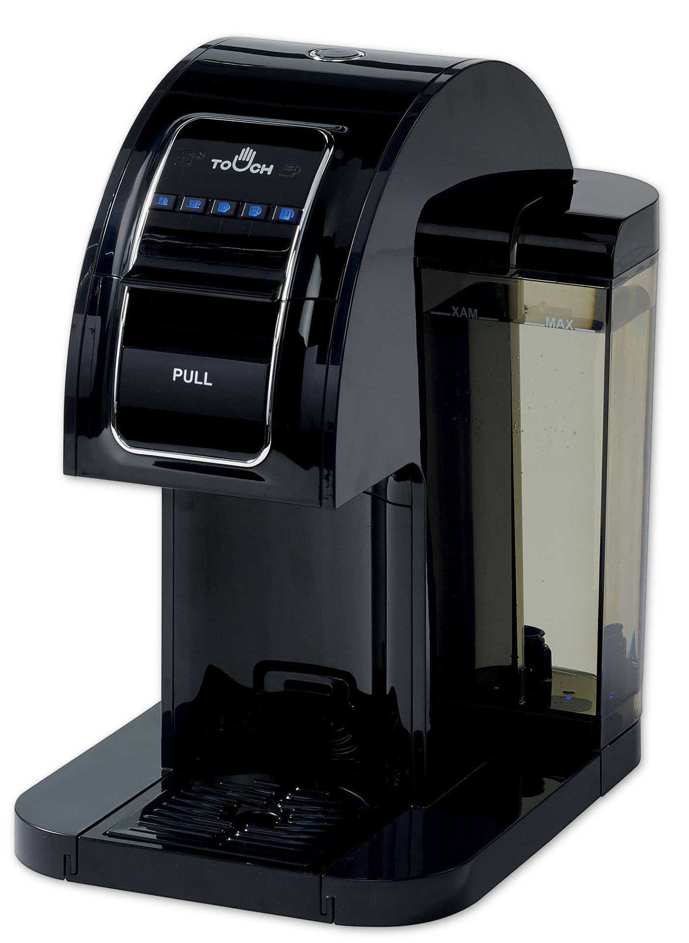 Touch Single Serve Coffee Brewer Black Coffee Maker with