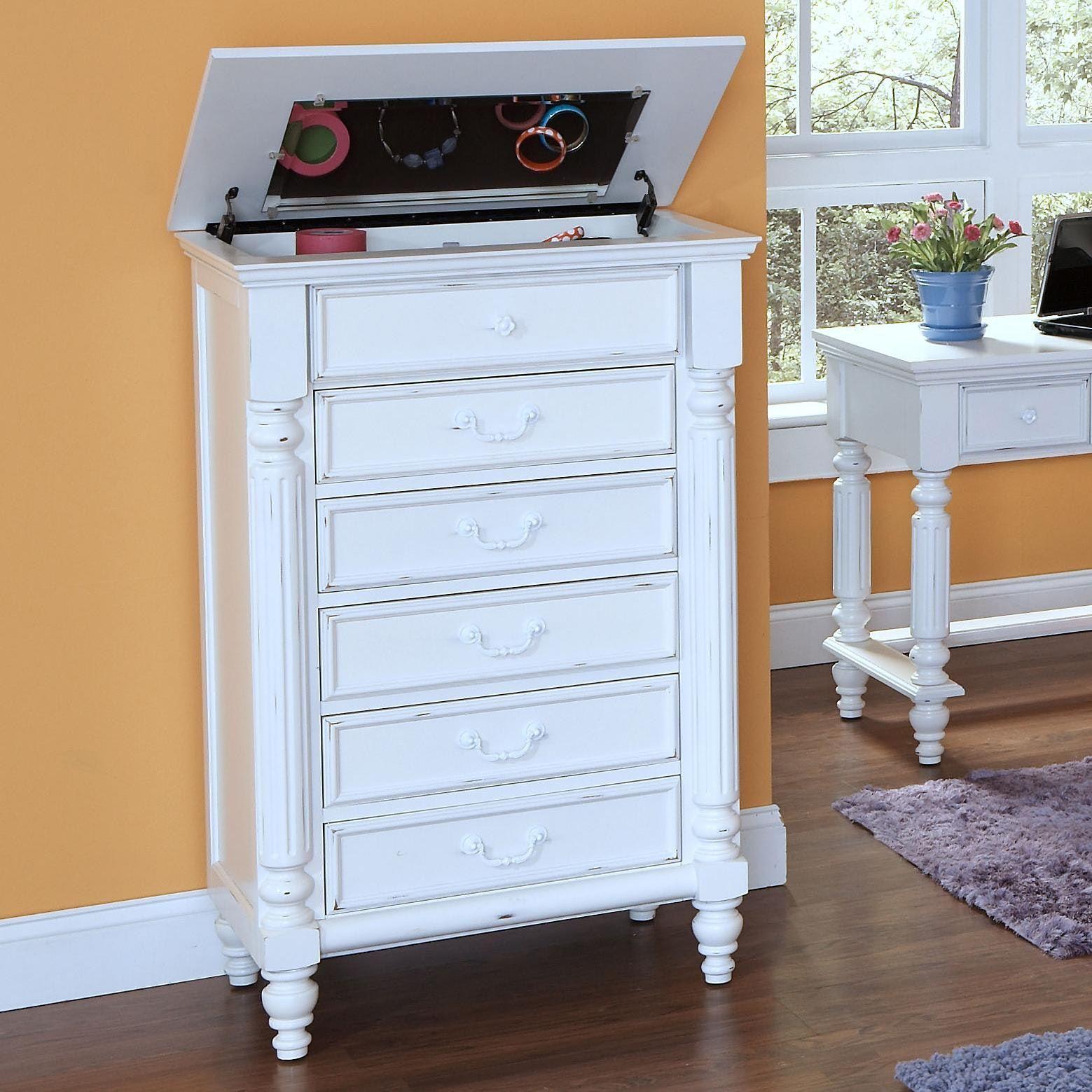 Unique White Shallow Depth Dresser 9719 Pauldryden Co
