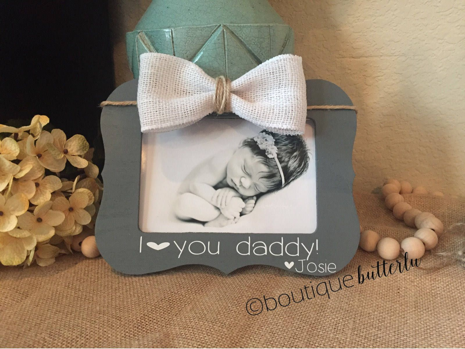 Fathers Day Gift I Love You Dad Daddy First Fathers Day Personalized