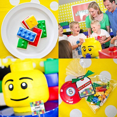 Play Well: A Lego Birthday Party That Has Kids Building