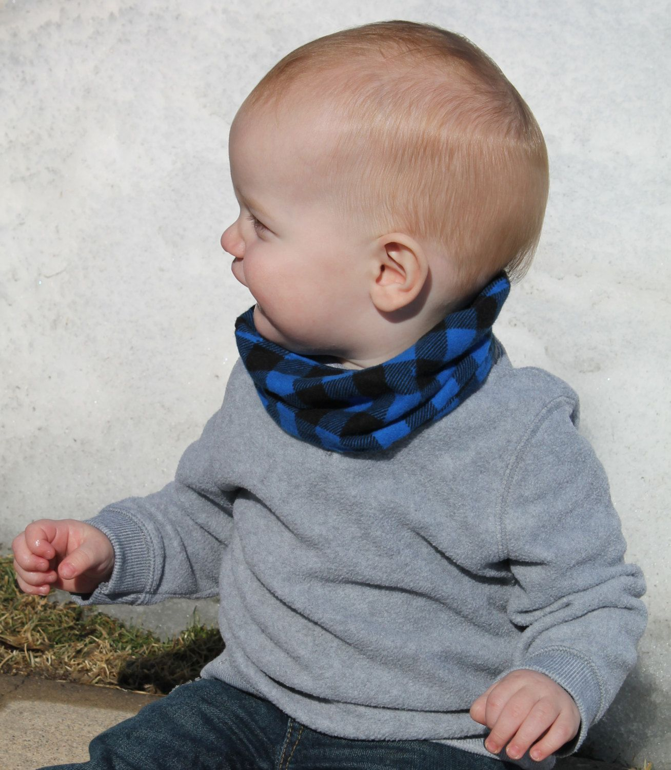 Toddler Scarf Baby Boy Gift Trendy Kids Clothes Baby Infinity