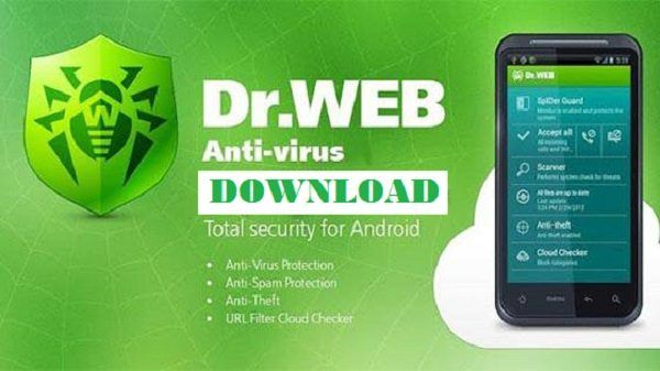 Download Dr Web Security Space Life 2018 Apk Full Key
