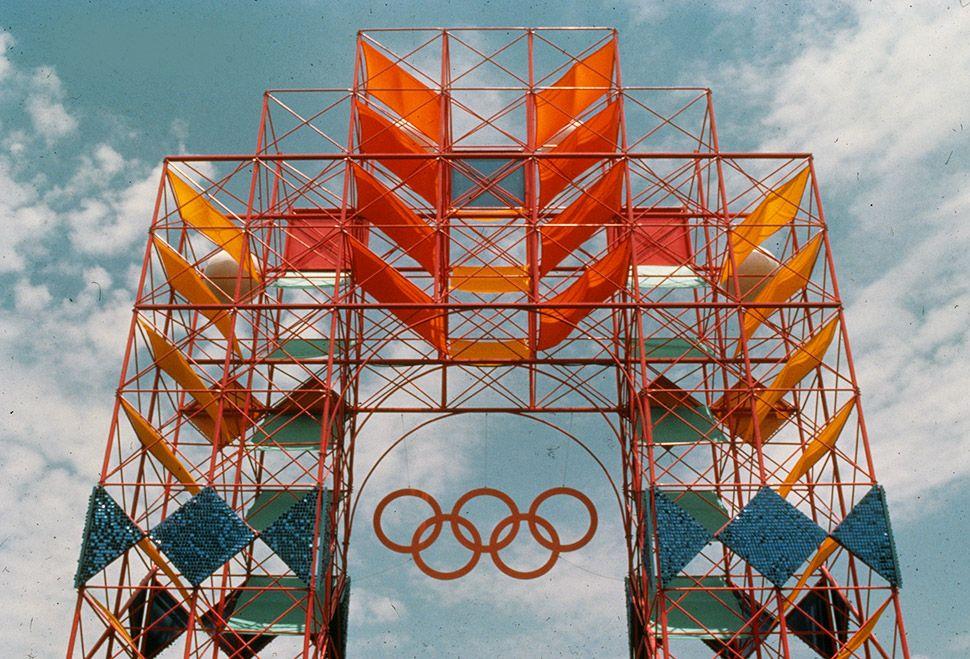 1984 Los Angeles Olympics, USA  by Los Angeles 84 Design Team