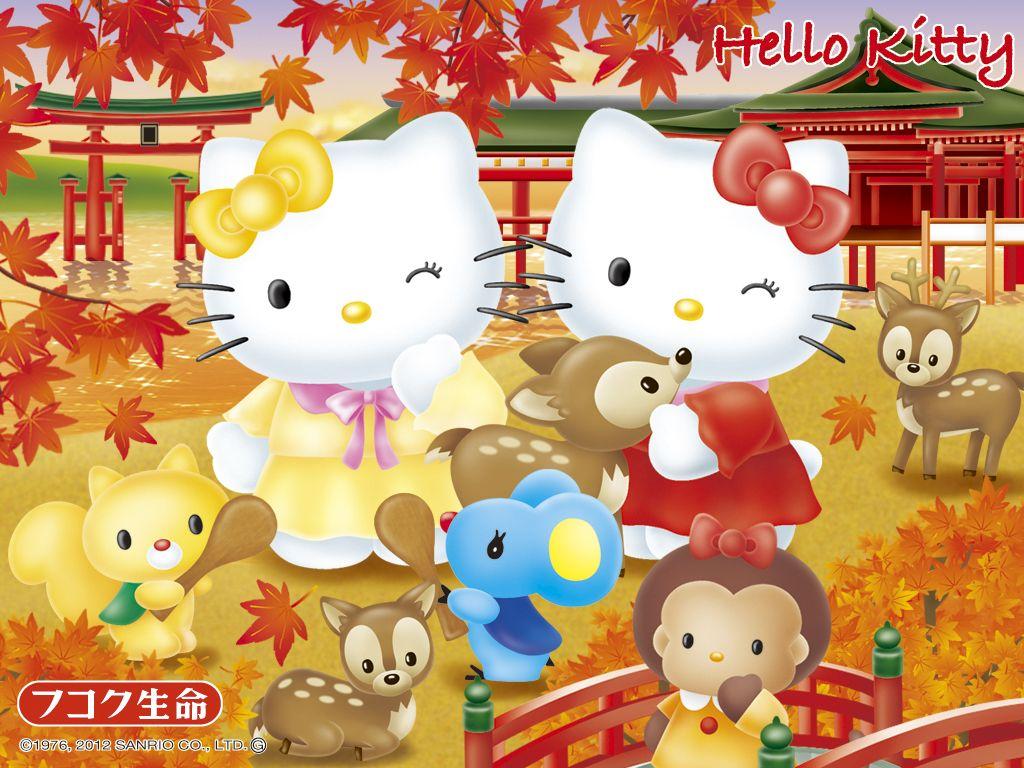 Hello Kitty In Japan Sanrio Wallpaper Hello Kitty Amp Friends P