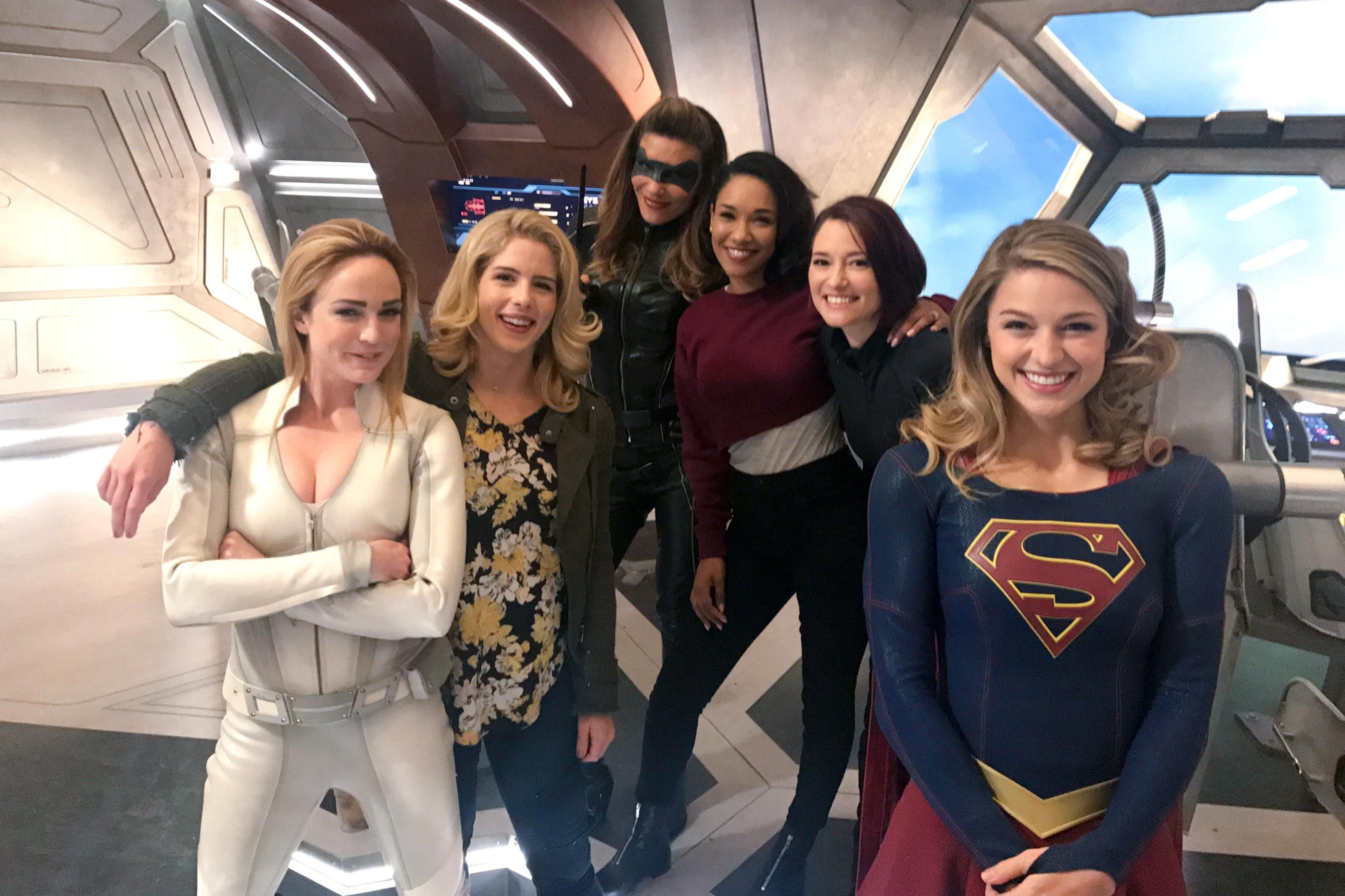 Arrowverse Stars Caity Lotz And Candice Patton Aim To Bring Women