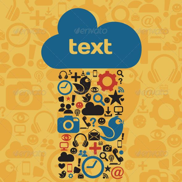 Social Media Cloud  #GraphicRiver         Vector illustration of social media icons with copy space   Files Included: - EPS 10 - AI, PDF - JPG (2400 X 2400)   note: contains transparency effects     Created: 15July13 GraphicsFilesIncluded: JPGImage #VectorEPS #AIIllustrator Layered: Yes MinimumAdobeCSVersion: CS5 Tags: InformationMedium #bird #blog #bluebird #business #chatroom #cloud #communication #community #computericon #concepts #contemporary #discussion #flying #following…