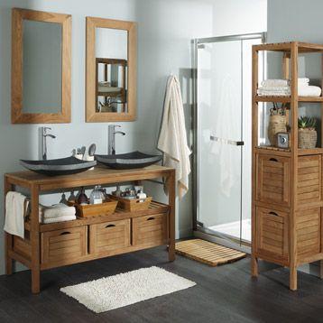 salle de bain | Dream Home | Leroymerlin salle de bain, Salle de ...