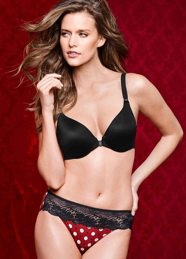 "Vanishing Back Full Coverage Front Close Bra.  ""My Soma Wish List Sweeps"""
