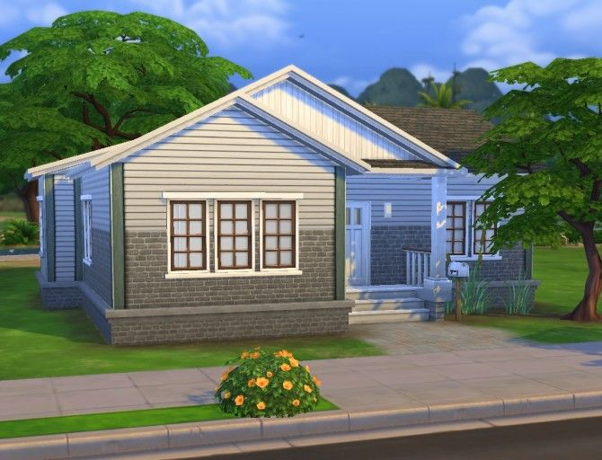 Walbaum house by plasticbox at Mod The Sims via Sims 4 Updates