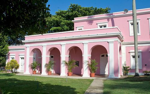 Old San Juan Puerto Rico And We Know How Much I Love Pink Puerto Rico Spanish Style Homes San Juan