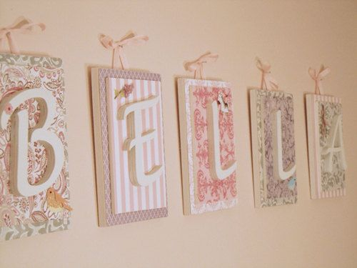 Nursery Letters Custom Initials Personalized By Loveylettersbyleah 12 00