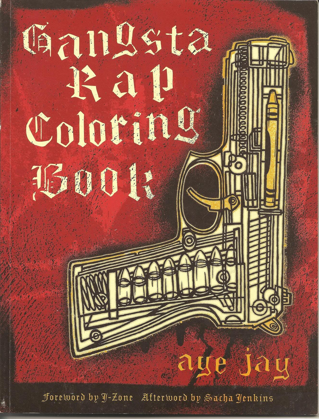 Gangsta Rap Coloring book | Products I Love | Pinterest