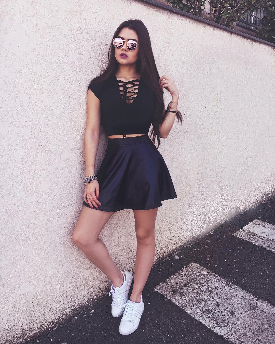 Franciny Ehlke ~ Franciny Ehlke It Girls bloggers Pinterest Ropa, Poses para fotos y Vestiditos