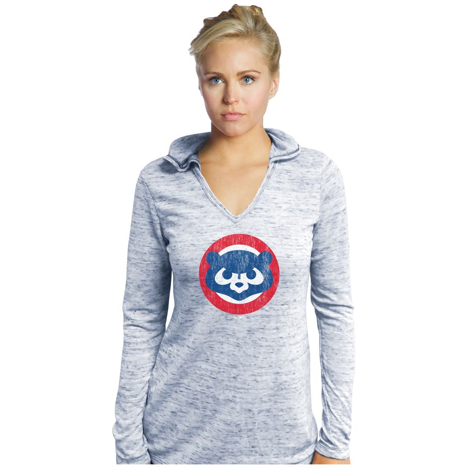 Chicago Cubs Long Sleeve Hooded Thermal T Shirt Chicagocubs Cubs Flythew Mlb Thatscub Chicago Cubs Shirts Chicago Cubs Womens Cubs Shirts [ 942 x 942 Pixel ]