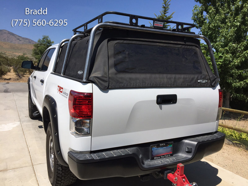 Bed rack over soft top! in 2020 Overland truck, Truck