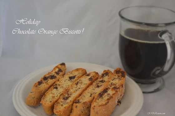 Holiday Chocolate-Orange Biscotti | KD RausinKD Rausin