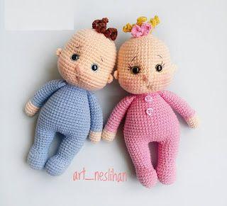 Samyelinin Örgüleri: Amigurumi Little Baby FREE ENGLİSH PATTERN #crochettoysanddolls