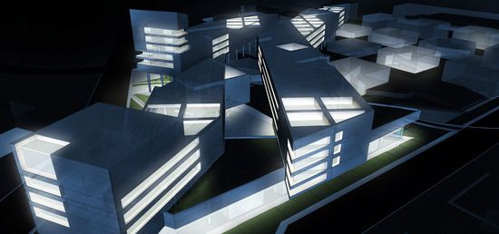 SKETCHUP TO PHOTOSHOP: EXTERIORLIGHTING - sketchup to photoshop: exterior lights - architectural rendering and illustration blog