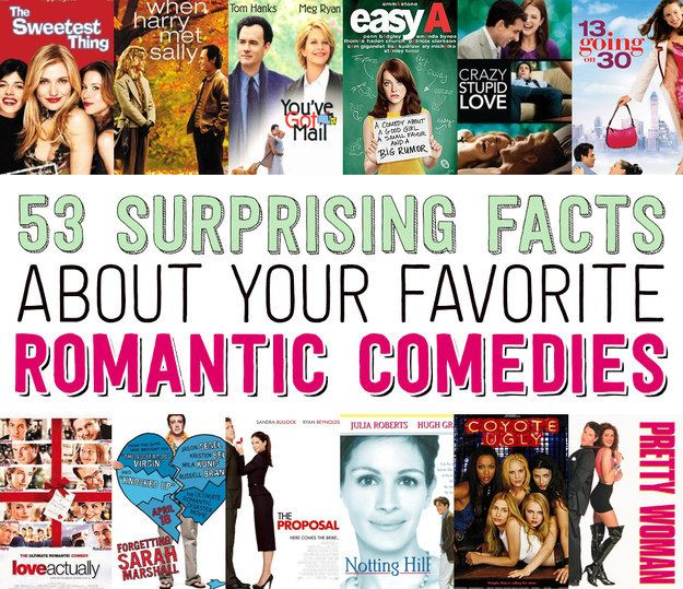 53 Surprising Facts About Your Favorite Romantic Comedies