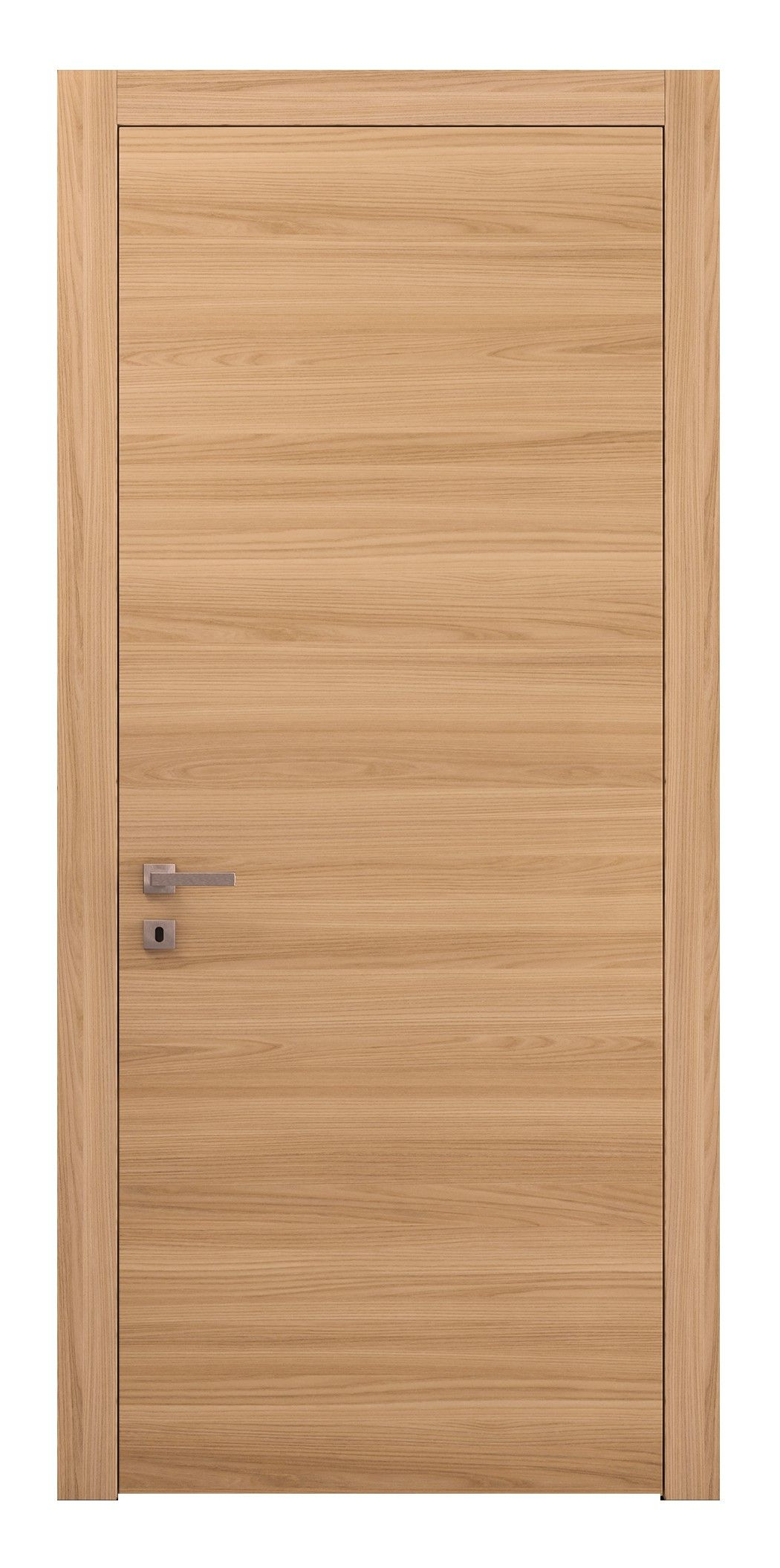 This Modern Neoclassic Interior Door Is Made From A Solid Wood Frame