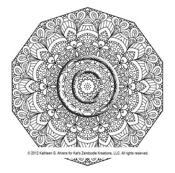 instant pdf download coloring page hand drawn by katslovekreations 220