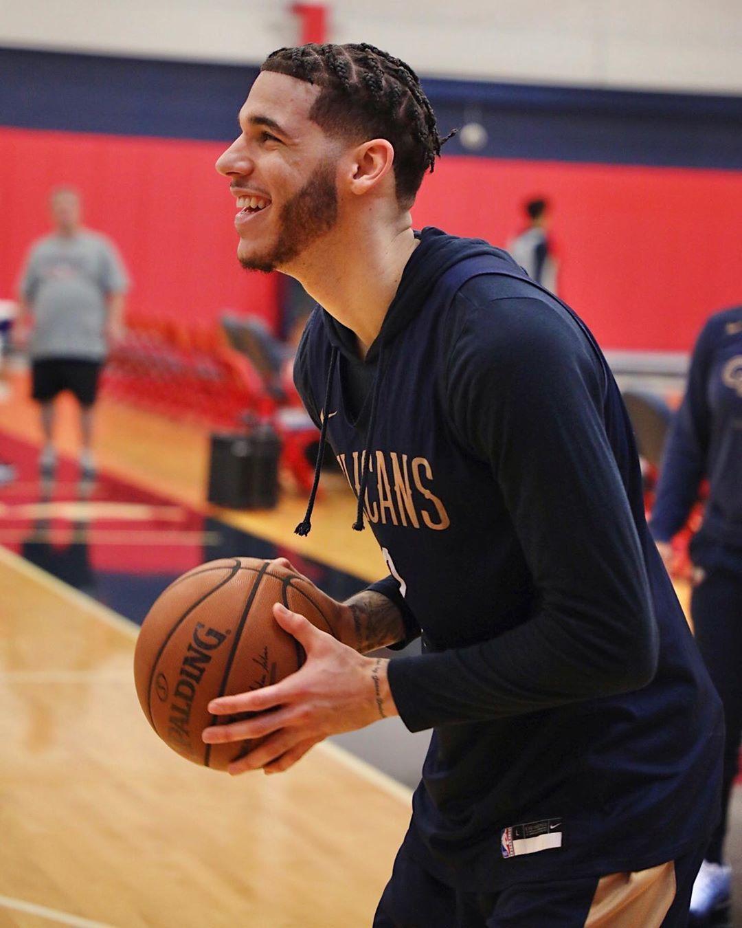New Orleans Pelicans On Instagram New Look Lonzo New Orleans Pelicans Lonzo Ball New Orleans