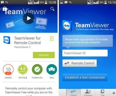 Download Aplikasi Teamviewer Remote Control untuk Android