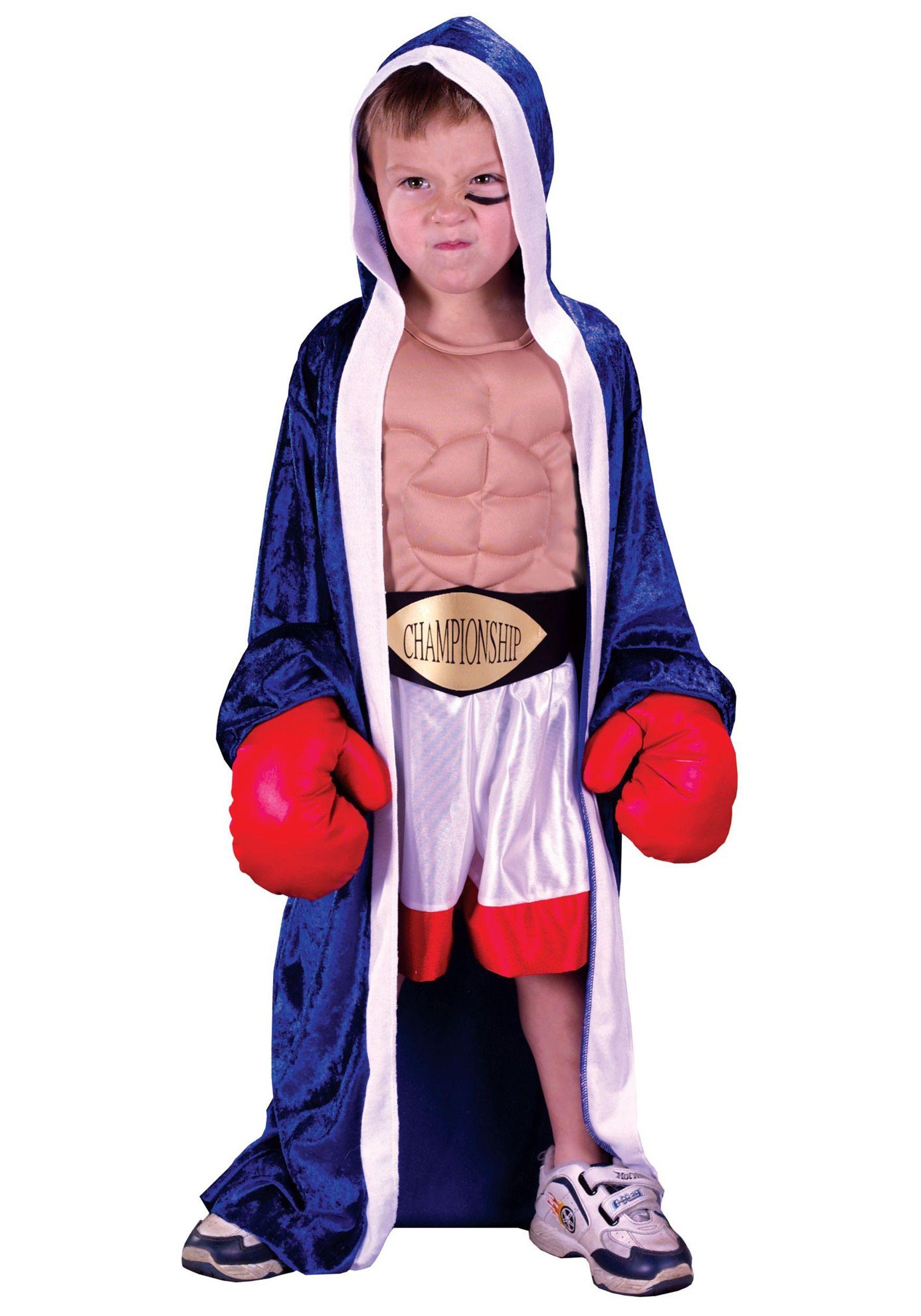 Toddler Boxer Costume | Baby Halloween Costumes | Pinterest ...