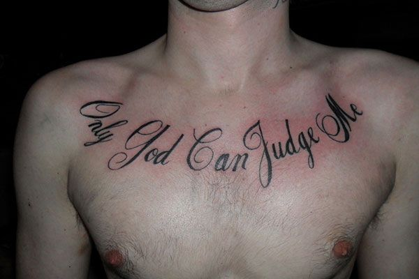 Image Name : Across Chest Tattoos