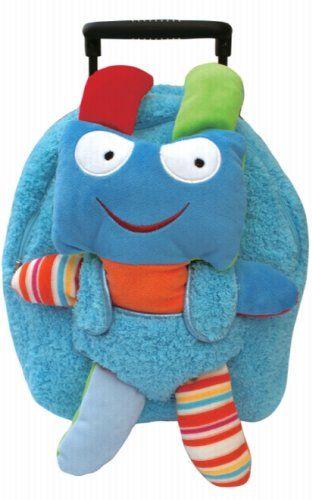 POPATU - Robot Monster Trolley Bag