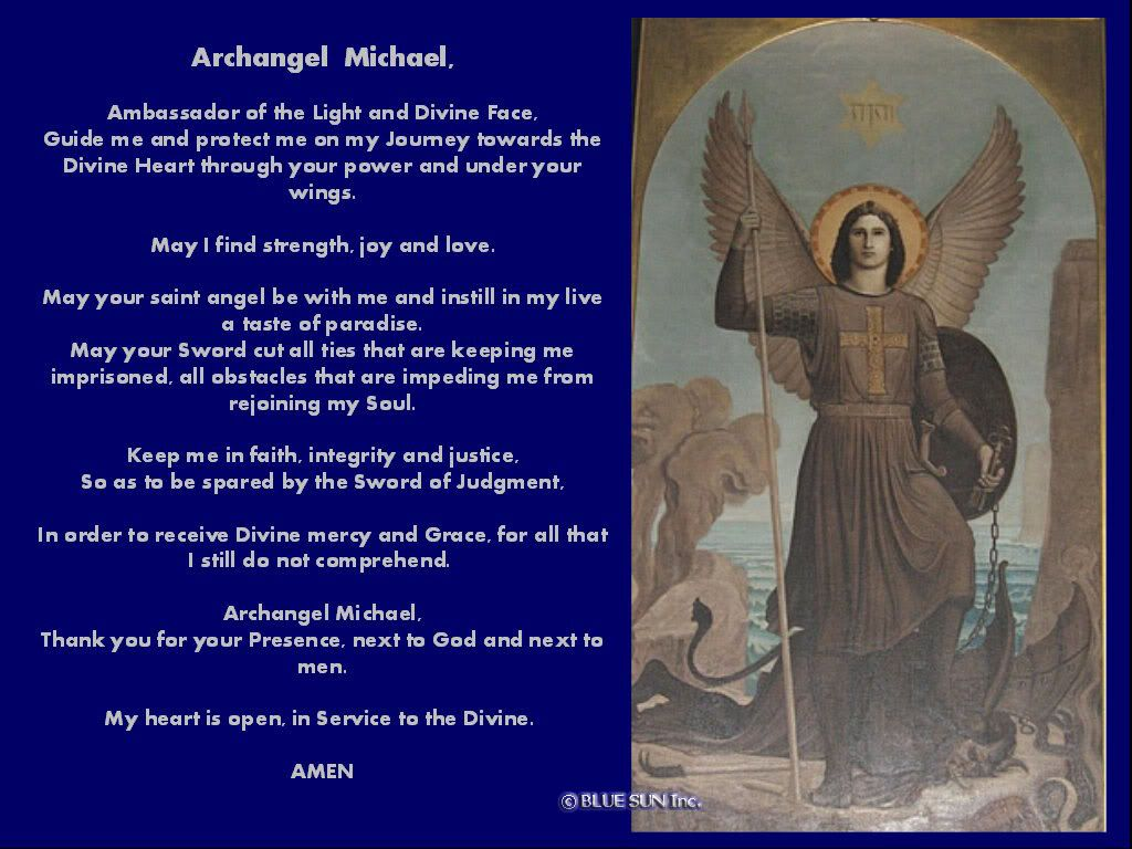 ST. MICHAEL THE ARCHANGEL {`Protector of Souls`} | All ...