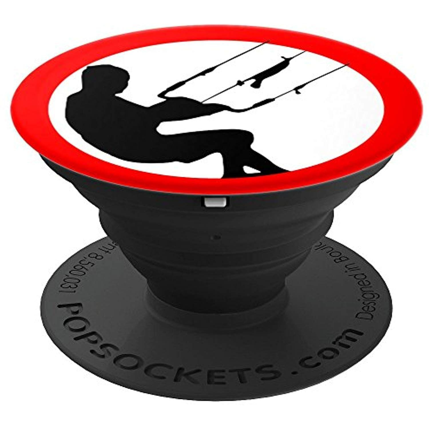 Kitesurfing popsockets grip and stand for phones and