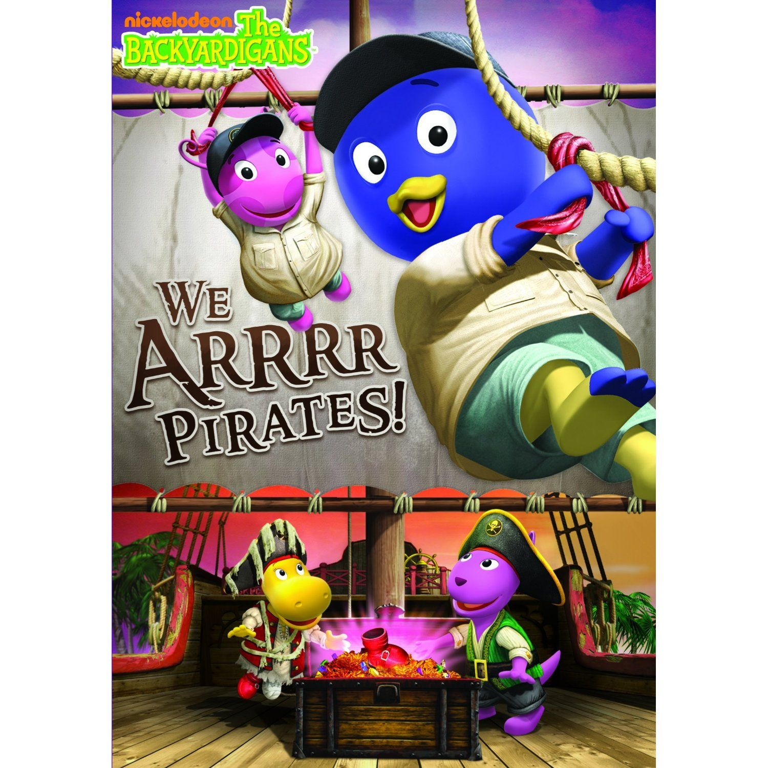 Backyardigans We Arrrr Pirates Is Available At Maplewood Community Library Dvd Pirate Adventure Pirates Kids