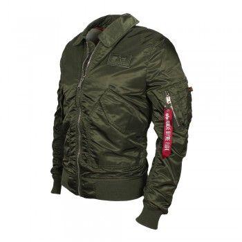 c8b5d0beae5262 ALPHA Industries Herren Jacke CWU LW PM Dark Green (grün ...
