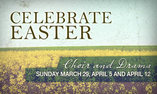 celebrate easter - web graphic