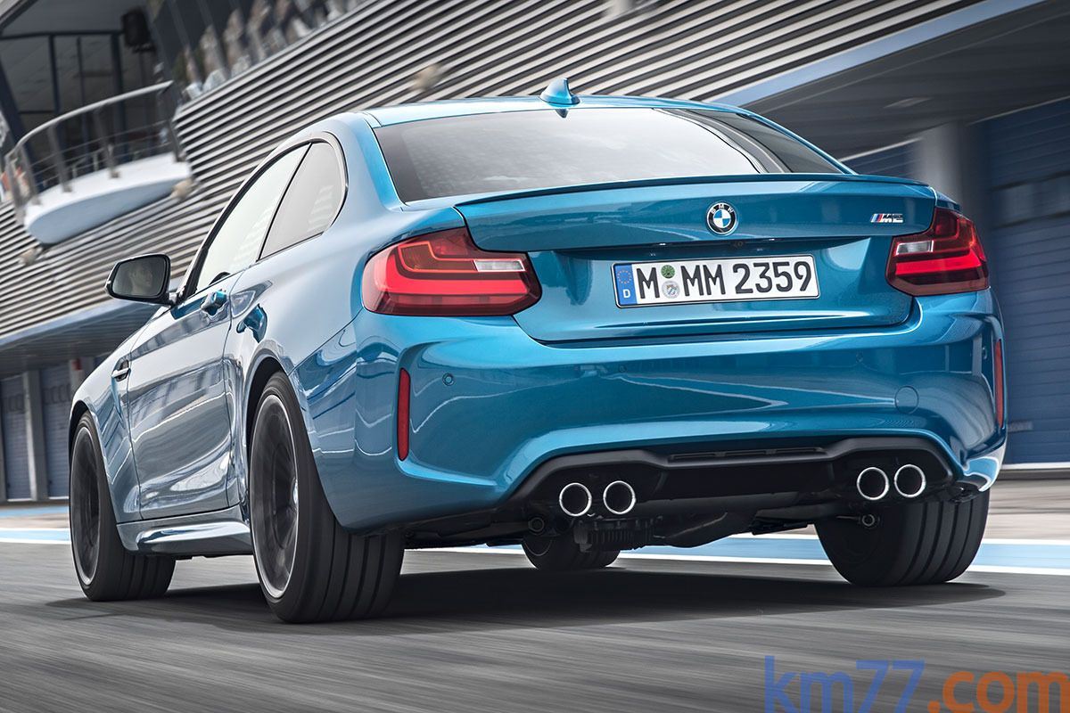 Bmw Serie 2 M2 Coupe M2 Coupe Coupe Long Beach Blue Exterior Lateral Posterior 2 Puertas