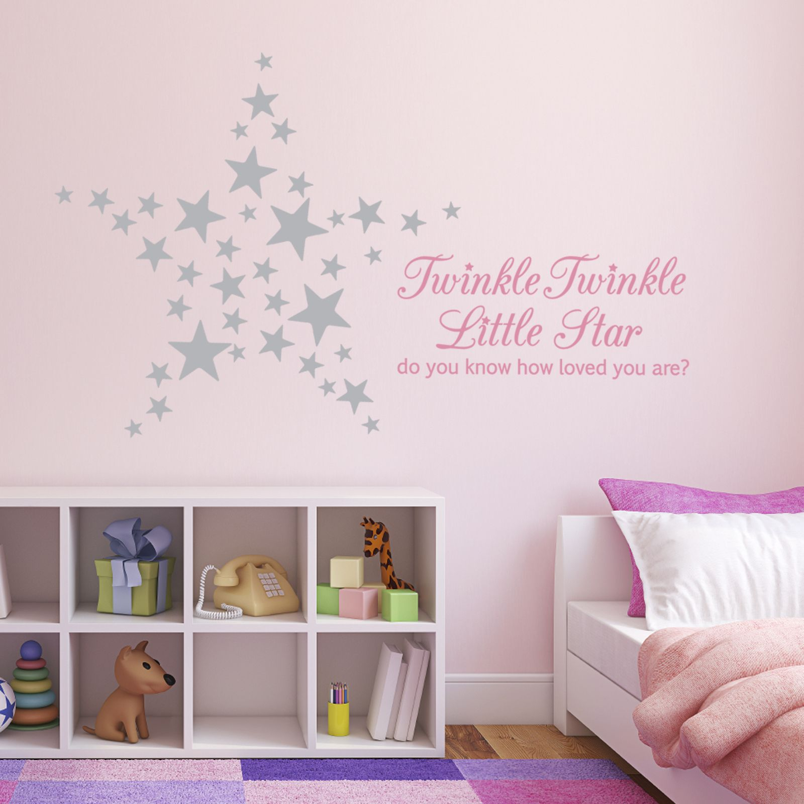 Twinkle twinkle little star do you know how loved you are twinkle twinkle little star do you know how loved you are gorgeous wall decal amipublicfo Images