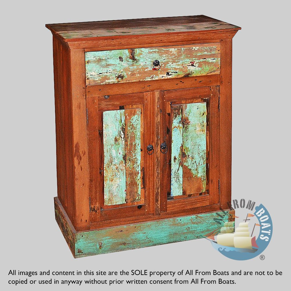 Boat Wood Cabinets Are Made From Recycled Reclaimed Boat Wood From Bali Boats Bali Boat Wood Wholesale Boat Wood Furniture And Accessoires